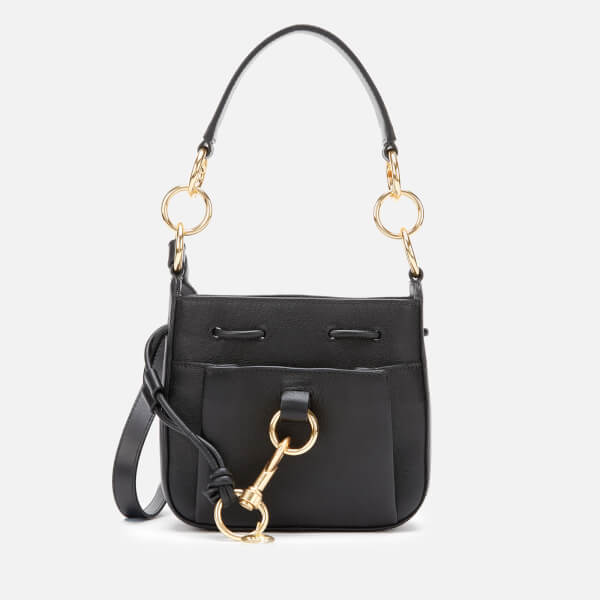 See By Chloé Women's Tony Small Bucket Bag   Black by My Bag