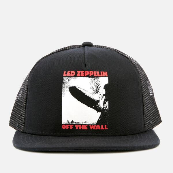 Vans X Led Zeppelin Men s Trucker Hat - Black White - Free UK ... cb8c85f0c1c