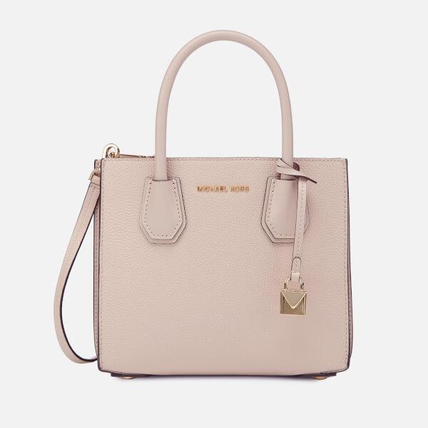 MICHAEL MICHAEL KORS Women's Mercer Medium Acordian Messenger Bag - Soft Pink