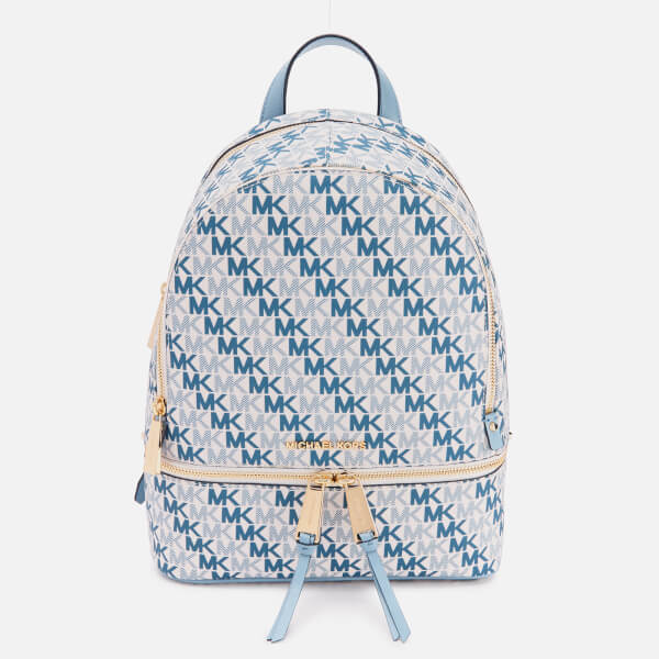 MICHAEL MICHAEL KORS Women's Rhea Zip Medium Backpack - Optic White