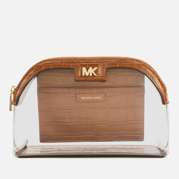 f0818848dcc592 MICHAEL MICHAEL KORS Women's Large Travel Pouch - Chestnut: Image 1
