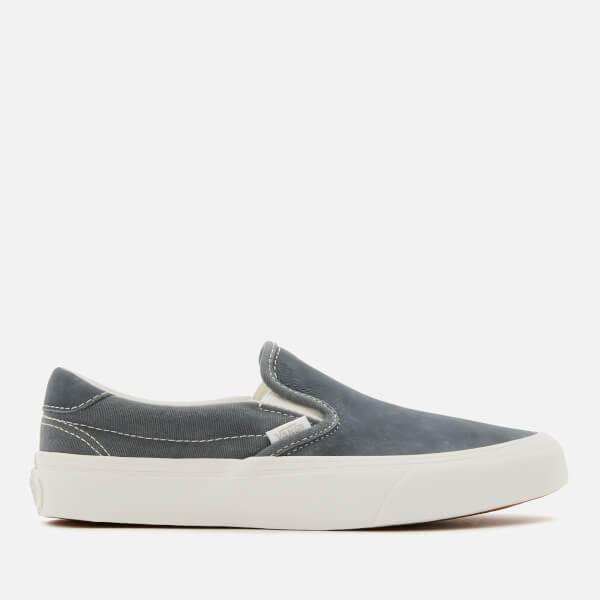 Vans Washed Nubuck Slip-On 59 Trainers - Ebony/Blanc