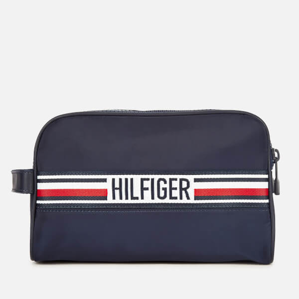 Tommy Hilfiger Men's Sport Tape Washbag - Tommy Navy