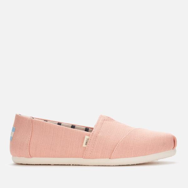 TOMS Women's Alpargata Slip-On Pumps - Coral Pink