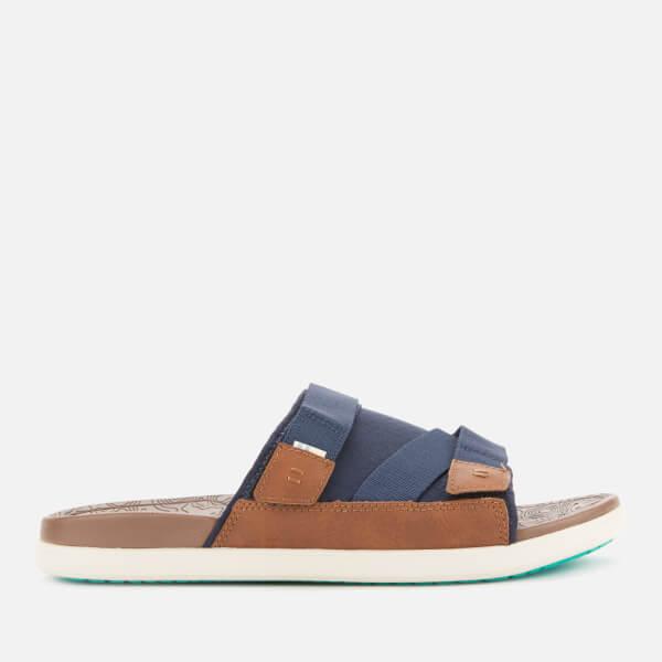 d9df416d26e TOMS Men s Trvl Vegan Lite Sandals - Navy  Image 2