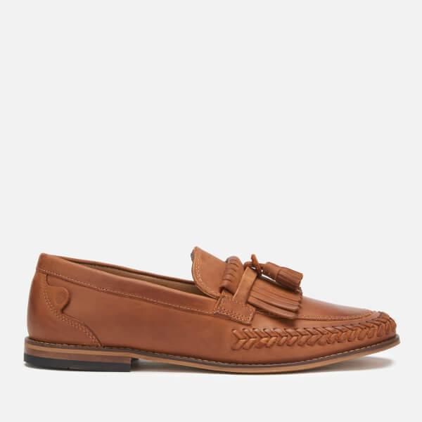 Hudson London Men's Alloa Kiltie Tassel Loafers - Cognac