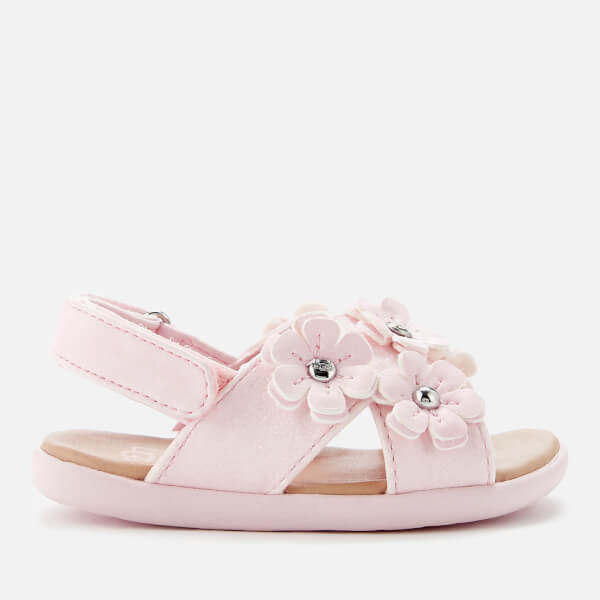 UGG Babies Allairey Sparkles Sandals - Seashell Pink