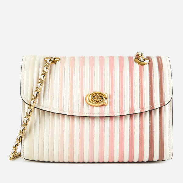 Coach Women's Ombre Quilting Parker Shoulder Bag - Chalk Multi