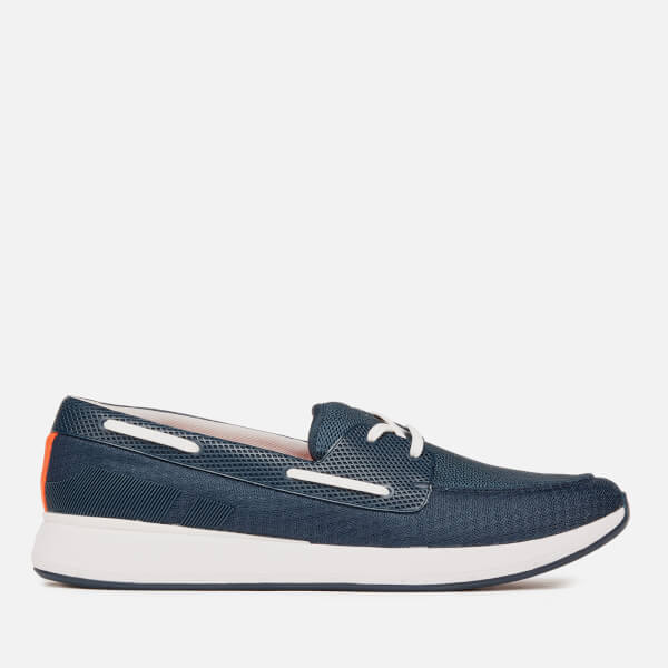 Swims Men's Breeze Wave Boat Shoes - Navy