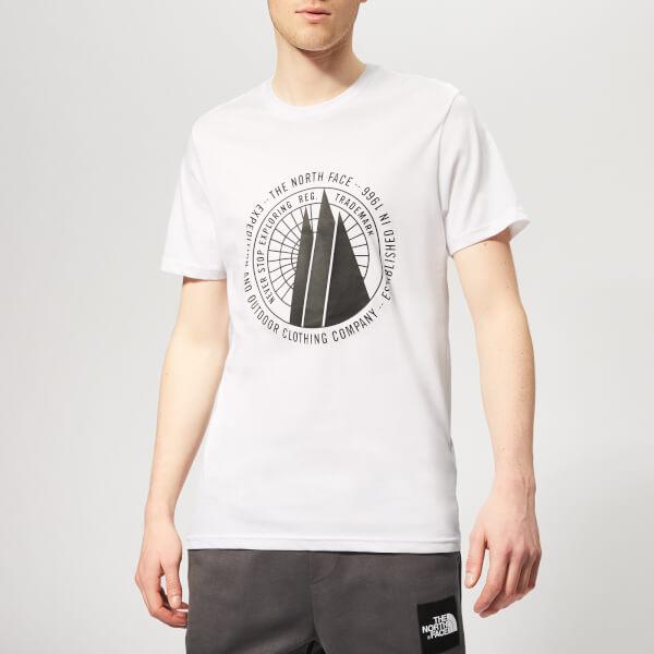 The North Face Men's Celebration Short Sleeve T-Shirt - TNF White