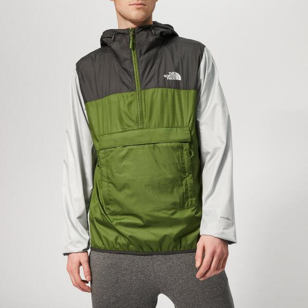 The North Face Men's Fanorak Jacket - Garden Green/Asphalt Grey