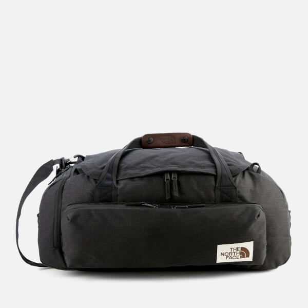 The North Face Berkeley Medium Duffel Bag - TNF Black Heather