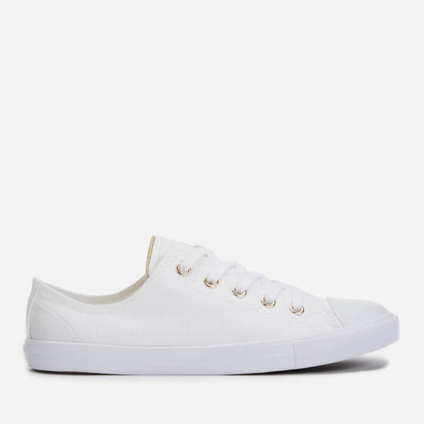 Converse Women's Chuck Taylor All Star Dainty Ox Trainers - White/Egret/Light Gold