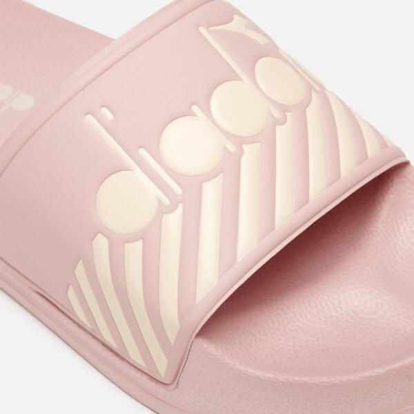 b419ab6a9f3a Diadora Women s Serifos 90 Wide Barra Slide Sandals - Rose Smoke  Image 3