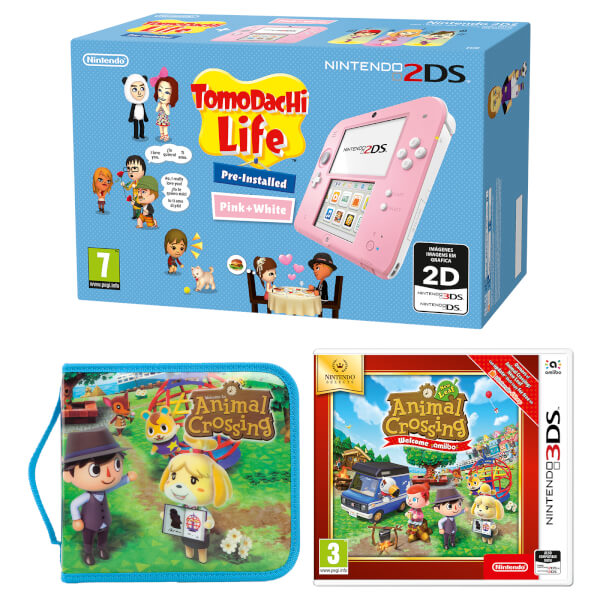 Nintendo 2DS Animal Crossing Pack