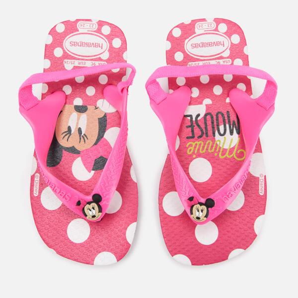 Havaianas Toddler's Disney Classics Sandals - White/Pink Flour