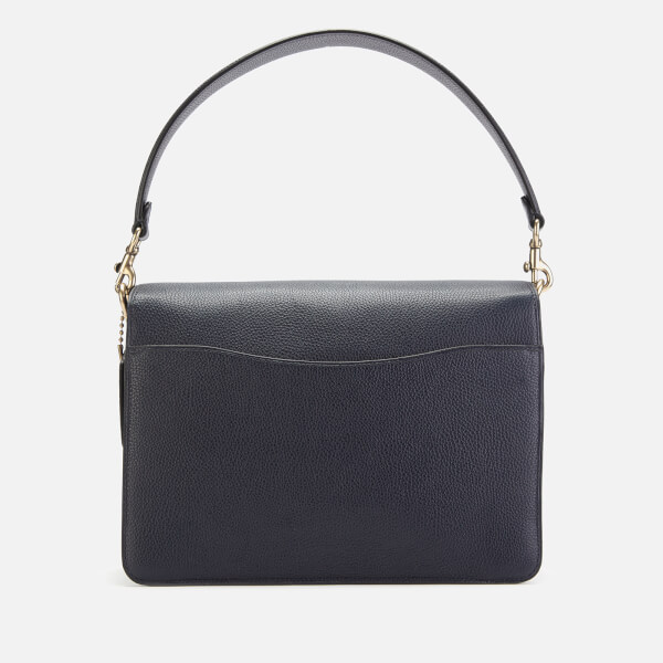 fa3ec35d1b Coach Women's Mixed Leather Tabby Shoulder Bag - Midnight Navy: Image 2