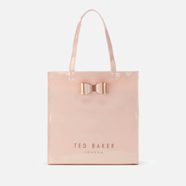 97cba2873 Ted Baker Women's Sofcon Soft Large Icon Bag - Dusky Pink: Image 1