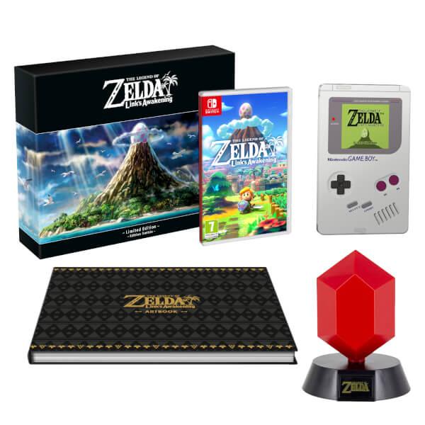 The Legend of Zelda: Link's Awakening Limited Edition + Red Rupee Lamp