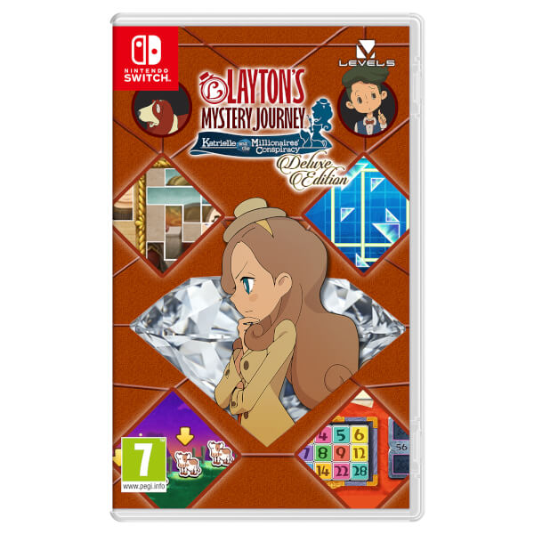 LAYTON'S MYSTERY JOURNEY™: Katrielle and the Millionaires' Conspiracy - Deluxe Edition