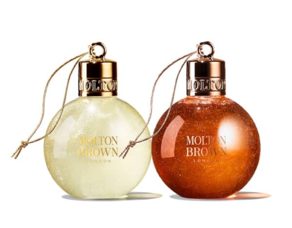 Molton Brown His and Hers Christmas Bauble Duo
