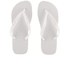 Havaianas Unisex Top Flip Flops - White: Image 1