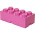 Brique de rangement LEGO® rose 8 tenons: Image 1
