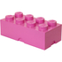 LEGO Aufbewahrungsbox 8er - Rosa: Image 1