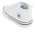 Converse Babies Chuck Taylor First Star Hi-Top Trainers - White: Image 4
