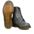 Dr. Martens Women's Pascal Lace Up Boots - Grey Buttero: Image 6