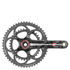 Campagnolo Super Record Ultra-Torque Ti Bicycle Chainset - Black: Image 1