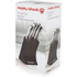 Morphy Richards 46290 5 Piece Knife Block - Black: Image 5