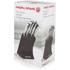 Morphy Richards 46290 5 Piece Knife Block - Black: Image 5