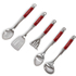 Morphy Richards 46821 5 Piece Tool Set - Red: Image 2