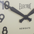 Newgate Giant Electric Wall Clock - Chrome: Image 3