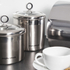 Morphy Richards Accents Large Storage Canister - Stainless Steel: Image 3