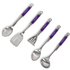 Morphy Richards Accents Kochbesteck Set, 5 tlg, lila: Image 2