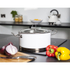 Morphy Richards 79007 Accents Casserole Dish - White - 24cm: Image 2