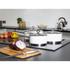 Morphy Richards 79009 3 Piece Saucepan Set - White - 16/18/20cm: Image 2