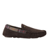 Barbour Men's Monty Suede Slippers - Brown: Image 1