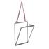 Nkuku Glas Bilderrahmen - Matt Grau - 5x7 Hochformat: Image 4