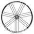 Campagnolo Eurus Clincher Wheelset - Black: Image 1