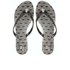 Jason Wu For Melissa Women's Harmonic Crystal Flip Flops - Black Lace: Image 1