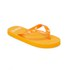 PE Beach Flip Flops with PVC Strap - Orange - Large: Image 3