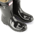 Hunter Women's Original Short Gloss Wellies - Black: Image 5