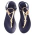 Ancient Greek Sandals Women's Ismene Leather Sandals - Marine/Platinum: Image 2