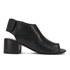 Hudson London Women's Iris Peep Toe Heeled Sandals - Black: Image 1