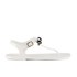Ted Baker Women's Verona Bow Jelly Sandals - Cream/Black: Image 1