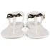 Ted Baker Women's Verona Bow Jelly Sandals - Cream/Black: Image 4