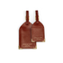 Aspinal of London Men's Luggage Tags - Cognac: Image 1
